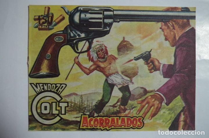 MENDOZA COLT Nº 76 - E. ROLLAN - ORIGINAL (Tebeos y Comics - Rollán - Mendoza Colt)