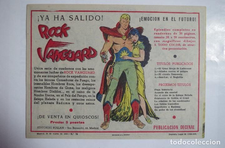 Tebeos: MENDOZA COLT Nº 76 - E. ROLLAN - ORIGINAL - Foto 2 - 69939405