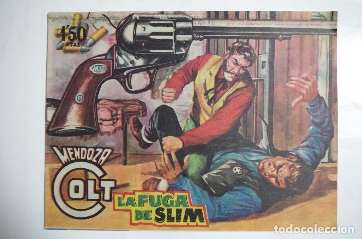 MENDOZA COLT Nº 77 - E. ROLLAN - ORIGINAL (Tebeos y Comics - Rollán - Mendoza Colt)
