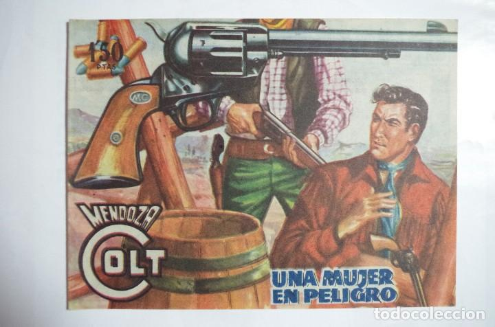 MENDOZA COLT Nº 78 - E. ROLLAN - ORIGINAL (Tebeos y Comics - Rollán - Mendoza Colt)