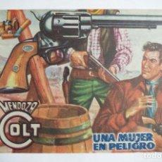 Tebeos: MENDOZA COLT Nº 78 - E. ROLLAN - ORIGINAL. Lote 69939649