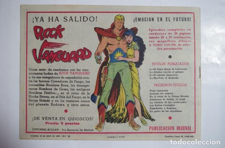 Tebeos: MENDOZA COLT Nº 78 - E. ROLLAN - ORIGINAL - Foto 2 - 69939649