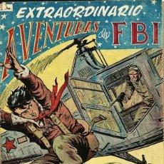 EXTRAORDINARIO DE AVENTURAS DEL FBI 2. PORTADA DE LUIS BERMEJO (ROLLAN)
