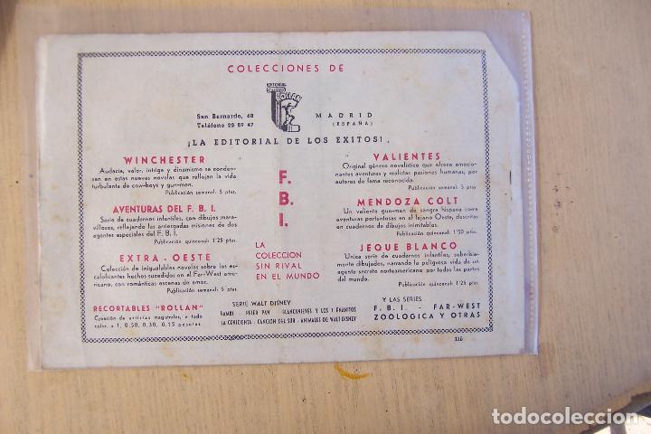 Tebeos: rollan, jeque blanco, lote de 34 nº, con el nº 1 y el 137 ultimo y TRES extraordinario y sueltos. - Foto 24 - 73455431