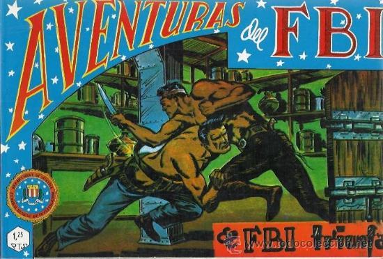 Tebeos: AVENTURAS DEL F.B.I. (B.O.) RENTAPADO FASCIMIL ORIGINAL 1981 COMPLETA - Foto 5 - 26481095