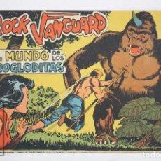 Tebeos: CÓMIC ROCK VANGUARD - Nº 2. EL MUNDO DE LOS TROGLODITAS - ED. ROLLÁN, AÑO 1961. Lote 75296703