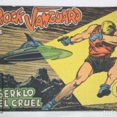 Tebeos: CÓMIC ROCK VANGUARD - Nº 5. SERKLO EL CRUEL - ED. ROLLÁN, AÑO 1961. Lote 75296895