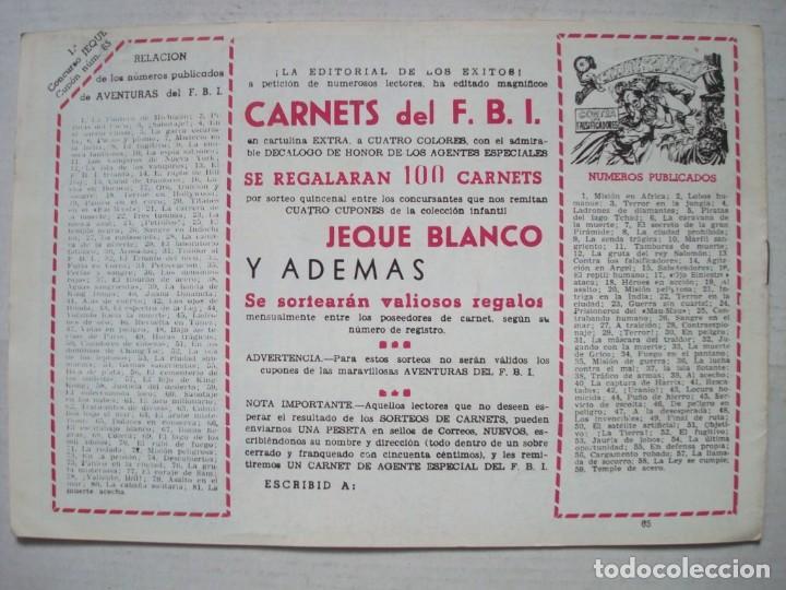 Tebeos: Jeque Blanco nº 65 - Foto 2 - 75660583