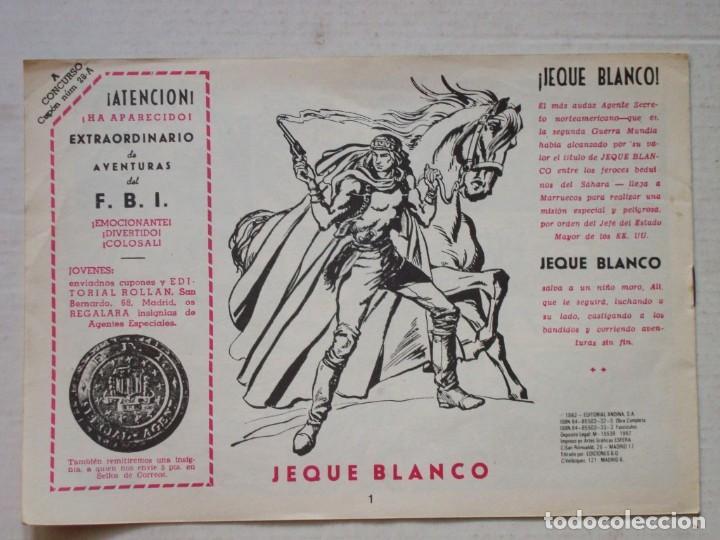 JEQUE BLANCO Nº 1 (Tebeos y Comics - Rollán - Jeque Blanco)