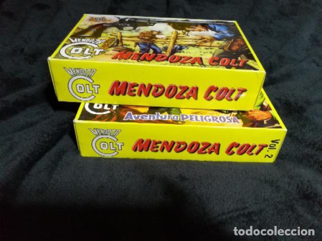 MENDOZA COLT, COLECCIÓN COMPLETA DE 120 TEBEOS EN FACSÍMIL (Tebeos y Comics - Rollán - Mendoza Colt)