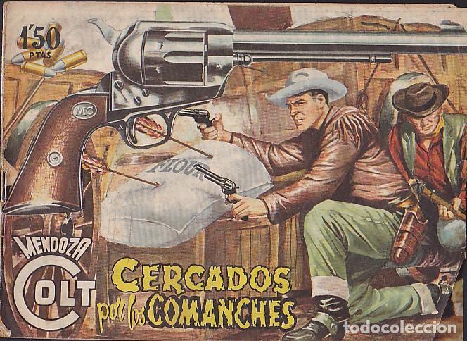 COMIC COLECCION MENDOZA COLT Nº 20 (Tebeos y Comics - Rollán - Mendoza Colt)