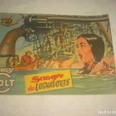 Tebeos: MENDOZA COLT N° 28 . SANGRE DE LUCHADORES. Lote 77081561