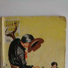 Tebeos: COLT 45. N°15. ED. ROLLAN 1966. UN PUEBLO MALDITO . Lote 77151957