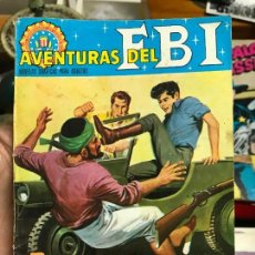 Tebeos: AVENTURAS DEL FBI Nº 32 REBELION ORIGINAL-FORMATO BOLSILLO. Lote 78185089