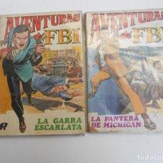 Tebeos: AVENTURAS DEL FBI NºS 1 Y 2. Lote 79483229