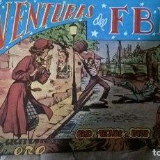 Tebeos: AVENTURAS DEL FBI. Lote 153609657