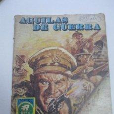 Tebeos: ÁGUILAS DE GUERRA Nº 1, BATALLA CONTRA RELOJ. ROLLÁN 1973. 25 PTS BELICO C12. Lote 84824052