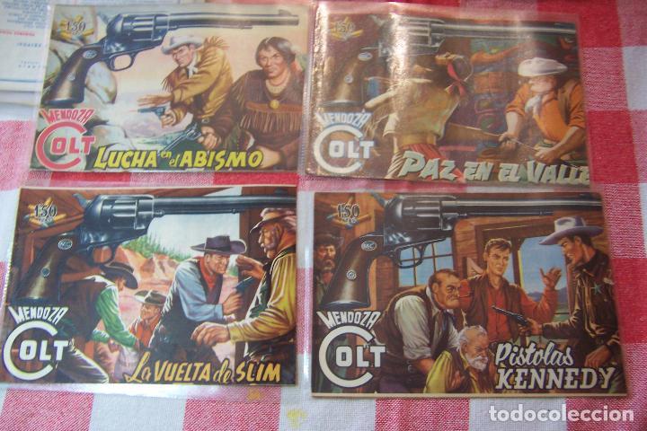 Tebeos: ROLLAN.- MENDOZA COLT DEL Nº 1 AL 34 Y 45 Nº MÁS DE LA SERIE Y LOS DOS EXTRA - Foto 4 - 51065051