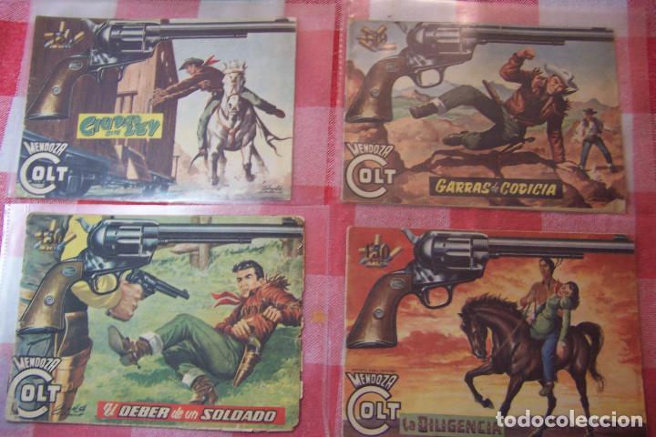 Tebeos: ROLLAN.- MENDOZA COLT DEL Nº 1 AL 34 Y 45 Nº MÁS DE LA SERIE Y LOS DOS EXTRA - Foto 10 - 51065051