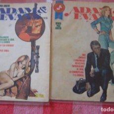 Tebeos: ROLLAN,- ADAM Y EVANS Nº 1 Y 3. Lote 84920744