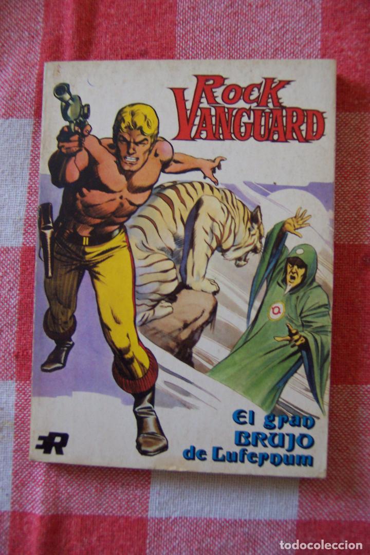 ROLLAN,- ROCK VANGUARD Nº 1 NOVELA DE 128 PAGINAS (Tebeos y Comics - Rollán - Rock Vanguard)