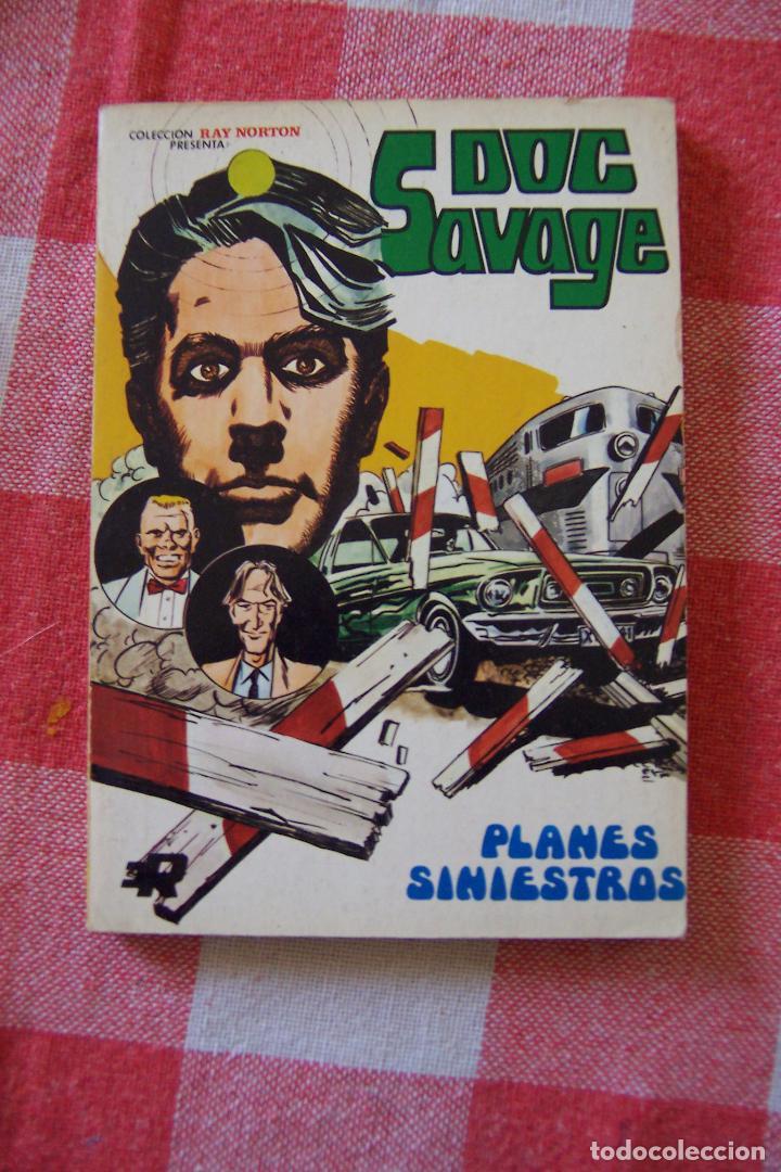 ROLLAN,- RAY NORTON PRESENTA DOC SAVAGE Nº 2 (Tebeos y Comics - Rollán - Otros)