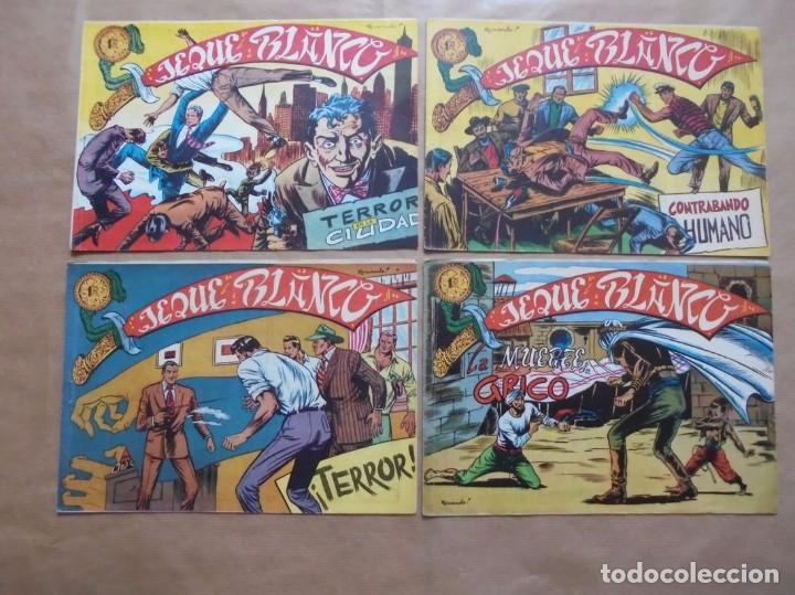Tebeos: Jeque Blanco - Lote de 24 ejemplares - Originales - Rollán - JLV - Foto 2 - 86142064