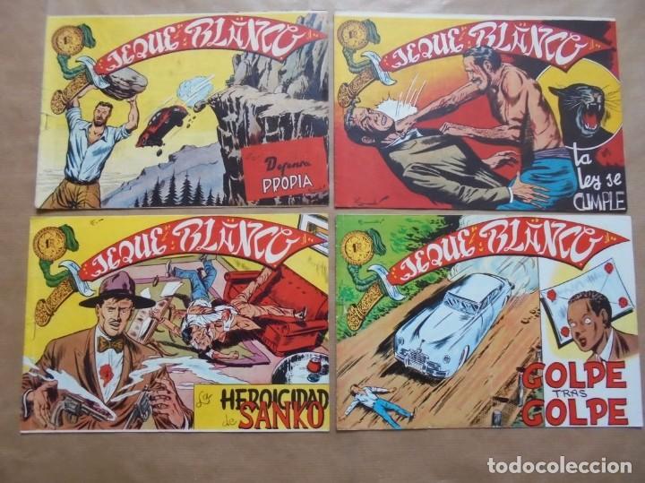 Tebeos: Jeque Blanco - Lote de 24 ejemplares - Originales - Rollán - JLV - Foto 3 - 86142064