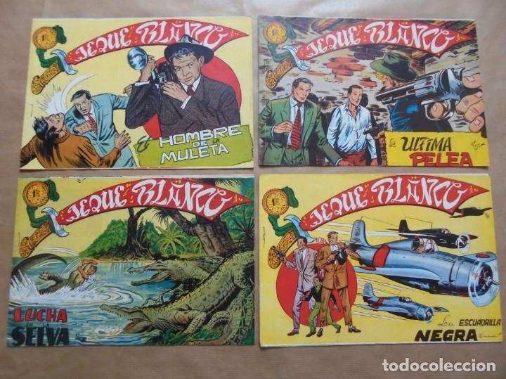 Tebeos: Jeque Blanco - Lote de 24 ejemplares - Originales - Rollán - JLV - Foto 4 - 86142064