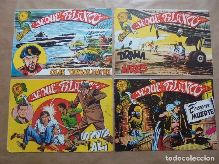 Tebeos: Jeque Blanco - Lote de 24 ejemplares - Originales - Rollán - JLV - Foto 5 - 86142064