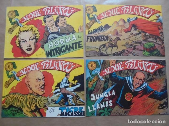 Tebeos: Jeque Blanco - Lote de 24 ejemplares - Originales - Rollán - JLV - Foto 6 - 86142064
