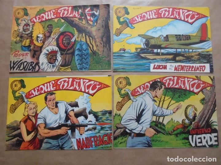 Tebeos: Jeque Blanco - Lote de 24 ejemplares - Originales - Rollán - JLV - Foto 7 - 86142064