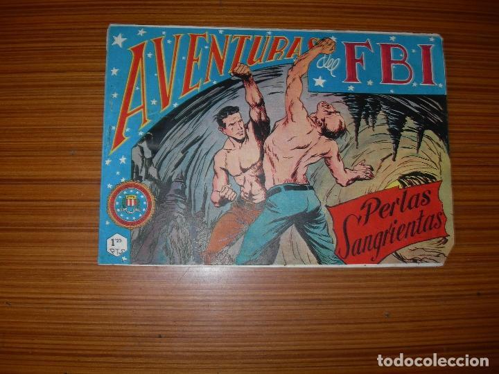 AVENTURAS DEL FBI Nº 105 EDITA ROLLAN (Tebeos y Comics - Rollán - FBI)