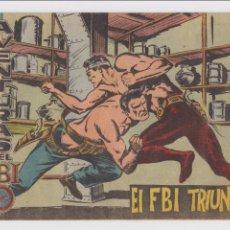 Tebeos: FBI Nº 13. ROLLÁN 2ª EDICIÓN. 1958.. Lote 88914104