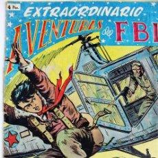 Tebeos: L-4164.EXTRAORDINARIO AVENTURAS DEL FBI. NUMERO 2. TERROR EN EL FBI. EDITORIAL ROLLAN. ORIGINAL. Lote 89702336
