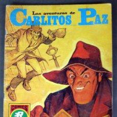 Tebeos: AVENTURAS CARLITOS PAZ Nº 19 LAS JOYAS DEL EMIR SERIE ROJA EDITORIAL ROLLÁN 1973. Lote 91112070
