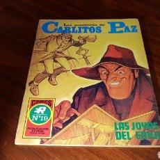 Tebeos: CARLITOS PAZ 19 EXCELENTE ESTADO ROLLAN. Lote 92188582