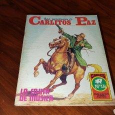 Tebeos: CARLITOS PAZ 18 EXCELENTE ESTADO ROLLAN. Lote 92188790