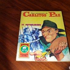 Tebeos: CARLITOS PAZ 13 EXCELENTE ESTADO ROLLAN. Lote 92189359