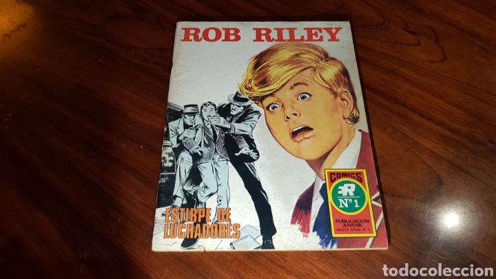 ROB RILEY 1 EXCELENTE ESTADO ROLLAN (Tebeos y Comics - Rollán - Otros)