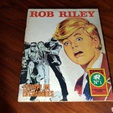 Tebeos: ROB RILEY 1 EXCELENTE ESTADO ROLLAN. Lote 92189627