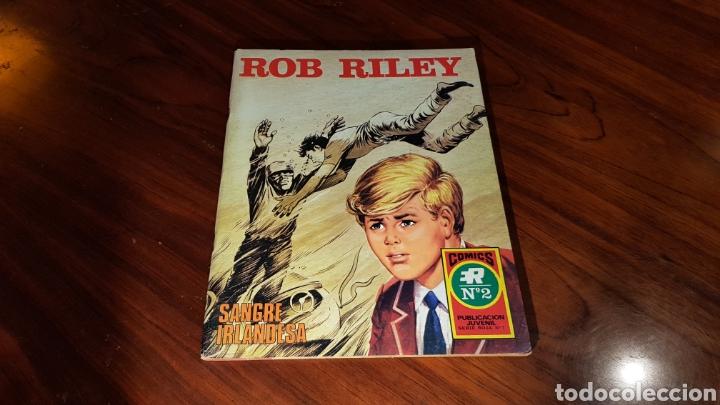 ROB RILEY 2 EXCELENTE ESTADO ROLLAN (Tebeos y Comics - Rollán - Otros)