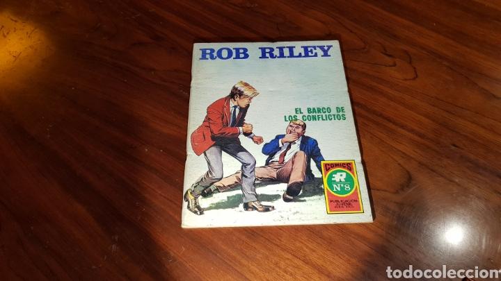 ROB RILEY 8 EXCELENTE ESTADO ROLLAN (Tebeos y Comics - Rollán - Otros)
