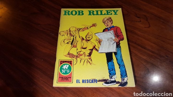 ROB RILEY 9 EXCELENTE ESTADO ROLLAN (Tebeos y Comics - Rollán - Otros)
