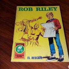 Tebeos: ROB RILEY 9 EXCELENTE ESTADO ROLLAN. Lote 92190144