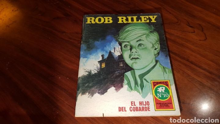 ROB RILEY 10 EXCELENTE ESTADO ROLLAN (Tebeos y Comics - Rollán - Otros)
