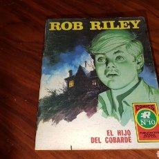 Tebeos: ROB RILEY 10 EXCELENTE ESTADO ROLLAN. Lote 92190272