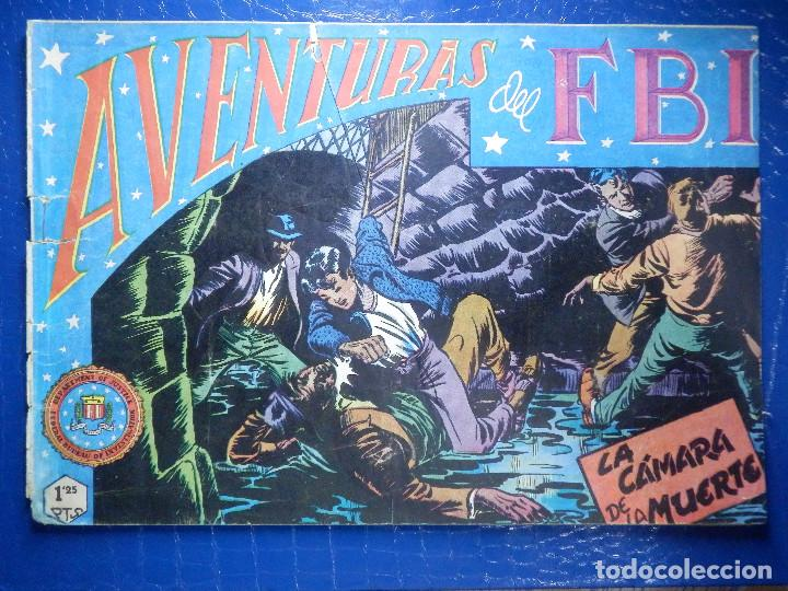 TEBEO - COMIC - AVENTURAS DEL FBI - LA CÁMARA DE LA MUERTE - Nº 28 (Tebeos y Comics - Rollán - FBI)