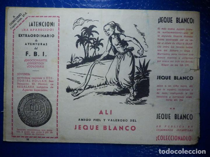 Tebeos: TEBEO - COMIC - AVENTURAS DEL FBI - LA CÁMARA DE LA MUERTE - Nº 28 - Foto 2 - 92235800