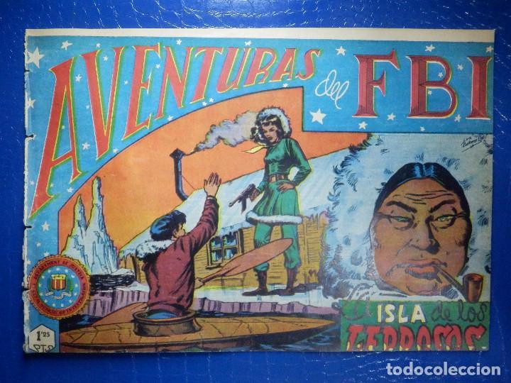TEBEO - COMIC - AVENTURAS DEL FBI - LA ISLA DE LOS LEPROSOS - ROLLAN - Nº 52 (Tebeos y Comics - Rollán - FBI)